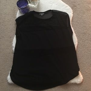 Black athletic top!
